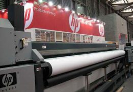 New HP large format installed